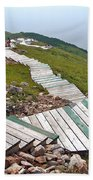 End Of Skyline Trail In Cape Breton Highlands Np-ns Beach Towel