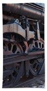 Engine 5629 In The Colorado Railroad Museum Beach Towel