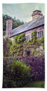 English Cottage Beach Towel