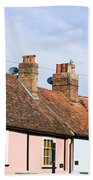 English Cottages Beach Towel