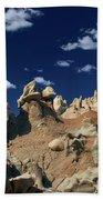 Eroded Sandstone Formations Fantasy Canyon Utah Beach Towel