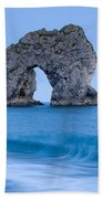Evening At Durdle Door Beach Towel