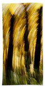 Fall Abstract Beach Towel