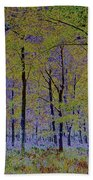 Fantasy Forest Art Beach Towel