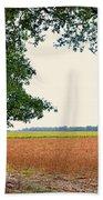 Farmland View Beach Towel