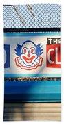 Feed The Clown Beach Towel