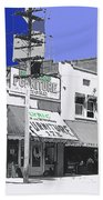 Film Homage Director Allan Dwan Soldiers Of Fortune 1919 Lyric Theater Tucson Arizona 1919-2008 Beach Towel