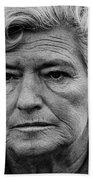Film Homage Film Noir Gloria Graham In A Lonely Place 1950 Demolition Derby Tucson Arizona '69-2008 Beach Towel