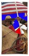 Film Homage Ride Vaquero 1953 1 Hispanic Riders Rodeo Parade Tucson Az 2002-2008 Beach Towel