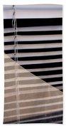 Film Noir Double Indemnity 2 1944 Broken Glass Window Venetian Blinds Casa Grande Arizona 2004 Beach Towel