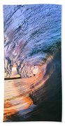 Fire And Ice Beach Towel