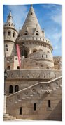Fisherman Bastion In Budapest Beach Towel
