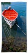 Fisherman's Boat Beach Towel