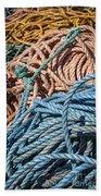 Fishing Ropes Beach Towel