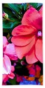 Floral Beauty Beach Towel