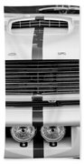 Ford Mustang Grille Emblem Beach Towel