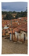 forgotten village Totora Beach Towel
