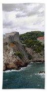 Fort Lovrijenac - Dubrovnik - Croatia Beach Towel