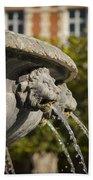 Fountain - Place Des Vosges Beach Towel