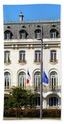 French Embassy In Vienna Beach Towel