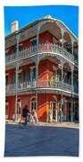 French Quarter Afternoon Beach Towel
