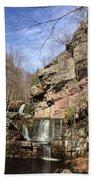 Fresh Water Streams Around Poconos Pa America Usa  Beach Towel