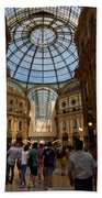 Galleria Vittorio Emanuele. Milano Milan Beach Towel