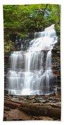 Ganoga Falls Beach Towel