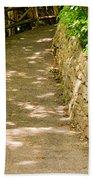 Garden Path Beach Towel