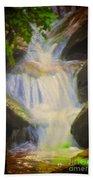 Glen Iris Waterfall Beach Towel