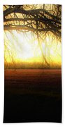 Golden Morning Beach Towel