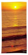 Golden - Sunrise Beach Towel
