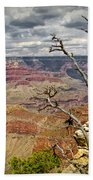 Grand Canyon View From The South Rim Beach Towel