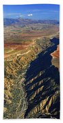 Great Canyon River Gor In Spain Beach Towel