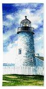 Great Lakes Light II Beach Towel