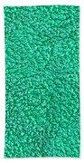 Green Towel Beach Sheet