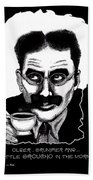 Groucho In The Morning Beach Towel