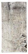 Grunge Concrete Texture Beach Towel