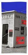 Hamburger Stand Coca-cola Signs Russell Lee Photo Farm Security Administration Dumas Texas 1939-2014 Beach Towel