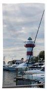 Harbourtown Harbor Beach Towel
