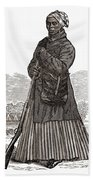 Harriet Tubman, American Abolitionist Beach Towel