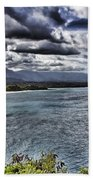 Hawaii Big Island Coastline V2 Beach Towel