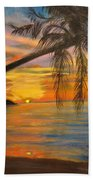 Hawaiian Sunset 11 Beach Towel