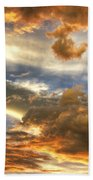 Heavenly Skies  Beach Towel