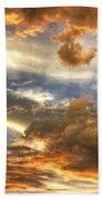 Heavenly Skies  Beach Sheet