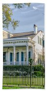 Home On St. Charles Ave - Nola Beach Towel