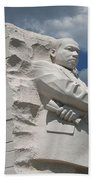 Honoring Martin Luther King Beach Towel