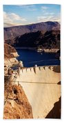 Hoover Dam Nevada Beach Towel