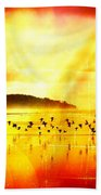 Hope On A Wing And A Prayer Beach Towel