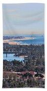 Huntington Beach View Beach Towel